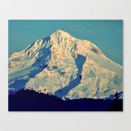 MT. HOOD - AT TWILIGHT Canvas Print