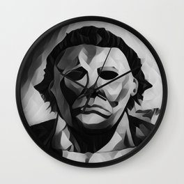 Michael Myers Wall Clock