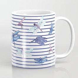 Dragonfly stripes Coffee Mug