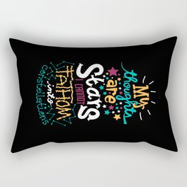 My Thoughts Are Stars Rectangular Pillow