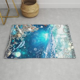 Enchanted Mermaid Sea Rug