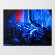 Glitch Space 3 Canvas Print