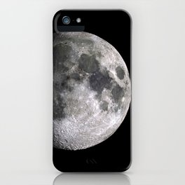 The Full Moon Super Detailed Print iPhone Case