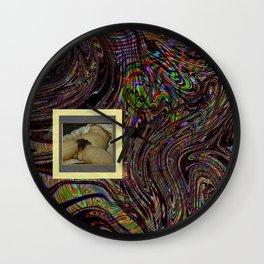 l'origine du monde en liquide Wall Clock