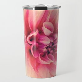 Her Smile (Spring Blooming Rose Pink Dahlia) Travel Mug