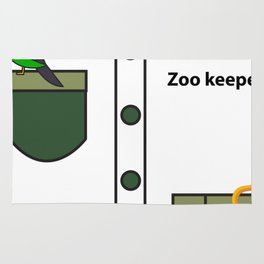 Zookeeper Halloween Costume For Boys And Men Gifts Rug