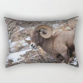 Bighorn with an attitude Rectangular Pillow