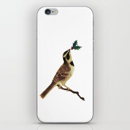 ChristmasBird iPhone Skin
