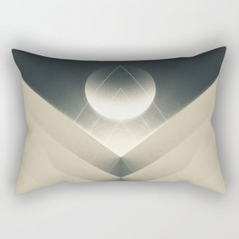 Expected Downfall Rectangular Pillow