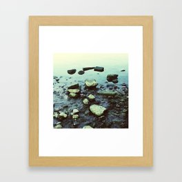 Rocks Framed Art Print