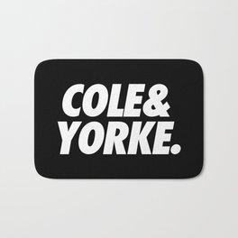 MUFC duo_ COLE & YORKE Bath Mat
