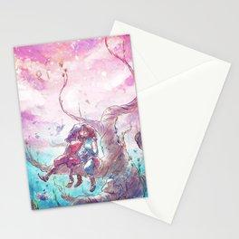 Kiss in the Spirit World - Korrasami Stationery Cards