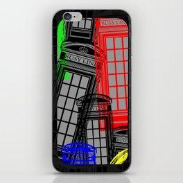 BUSY LINE Technicolour iPhone Skin