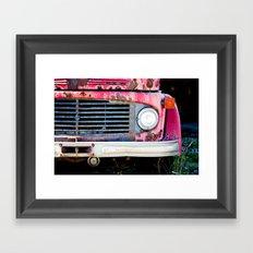 The Grill Framed Art Print
