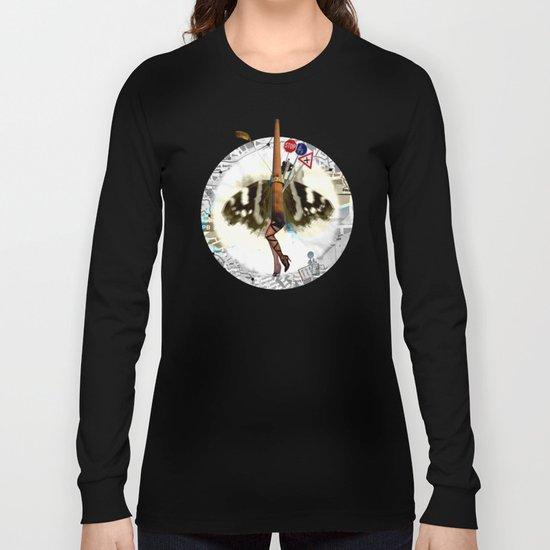 Cherry Chimney Charlotte Collage Long Sleeve T-shirt