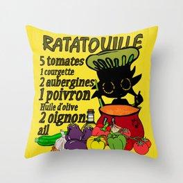Ratatouille Throw Pillow