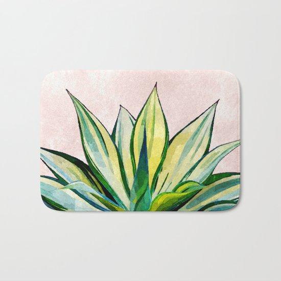 Agave V2 #society6 #buyart #lifestyle #artprint Bath Mat