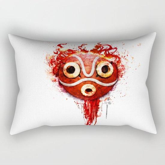 princess mononoke mask  Rectangular Pillow