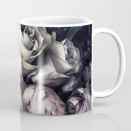 Roses and peonies vintage style Coffee Mug