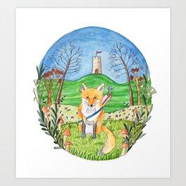Felix the Fox Art Print