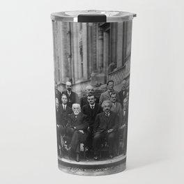 1927 Solvay Conference on Quantum Mechanics Travel Mug