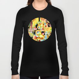 Art Deco Maximalist Long Sleeve T-shirt