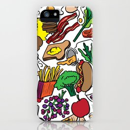 Foodie iPhone Case