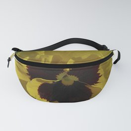 Golden Pansy Fanny Pack