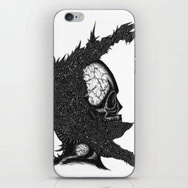 Helm of Your Own Making iPhone Skin