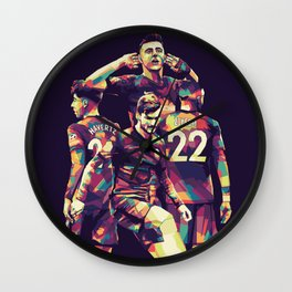 Chelsea Champions Wall Clock