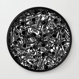 The Boneyard II Wall Clock