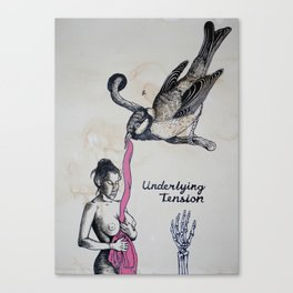 Underlying Tension Canvas Print
