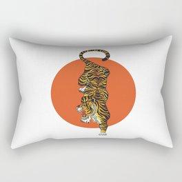 The Traditional Tiger Rectangular Pillow