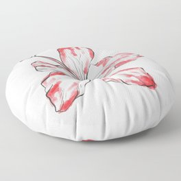 Hibiscus Flower Floor Pillow