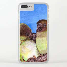 Birds of a Feather by Maureen Donovan Clear iPhone Case