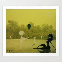 The Forest Spirits will not Tolerate rather Flippant Gifts Art Print