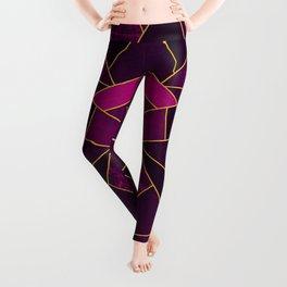 Purple Stone Leggings