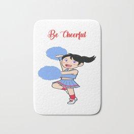 Be Cheerful Bath Mat