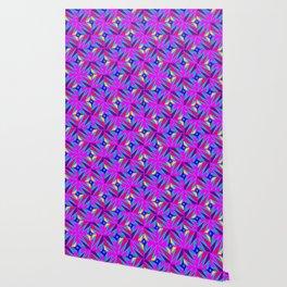 Retro Rosemary Pink Wallpaper