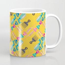 The Hair Basics in Gold Coffee Mug