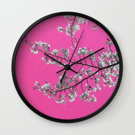 Spring, Cherry Blossom Time Wall Clock
