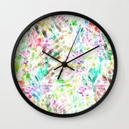 watercolour line Wall Clock