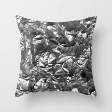 Heavy Metal Crush Throw Pillow