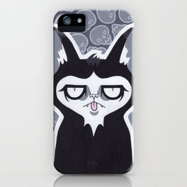 He's Doing That Face Again iPhone Case