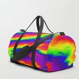 Psychedelic  Fire Duffle Bag