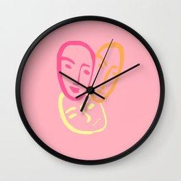 the three best friends Wall Clock