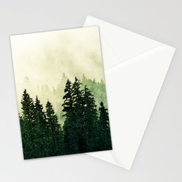 Misty Forest - Watercolor Stationery Cards