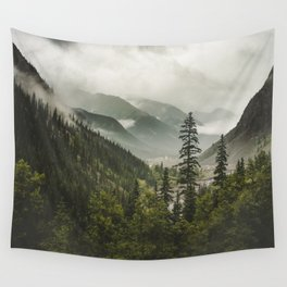 Mountain Valley of Forever Wall Tapestry