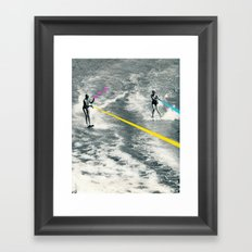 Competitive Strategy Framed Art Print