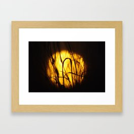 Sunshine Reggae Framed Art Print